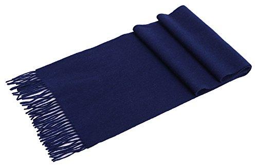 Women's Winter Soft Pashmina Shawl Wrap Cashmere Scarf w/ Gift Box,Cobalt blue (Box Cobalt)