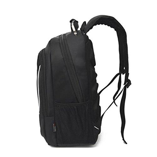 Estudiantes Para Hombres Ordenador Viaje Black Alta Bolsa De De Capacidad Mochila De Para Hx58qfH0
