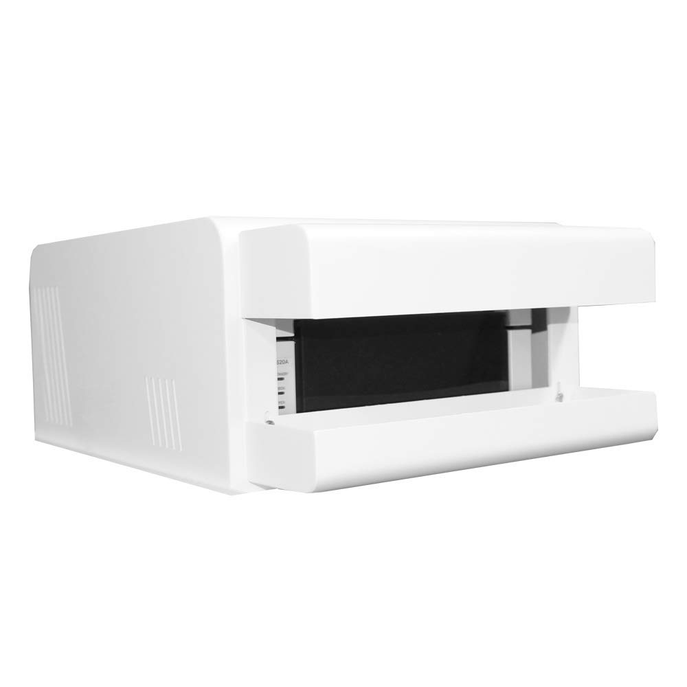 DNP DS40 / DS620A Printer Cover with Removable Custom Tray White