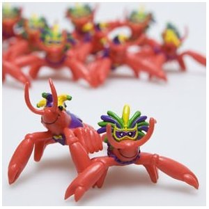 Fun Express Mardi Gras Crawfish