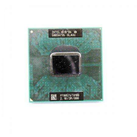 Duo Core Cpu T8100 2 (SLAUU Intel Mobile Core 2 Duo T8100 2.1GHz 3M 800FSB sP LP)