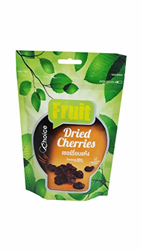 Price comparison product image 2 packs of Dried Cherries, Delicious Snack from My Choice Brand. (85 g/ pack)
