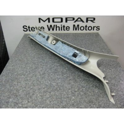Dodge Ram 1500 2500 3500 a Pillar DriverTaupe Grab Handle Panel Mopar OEM