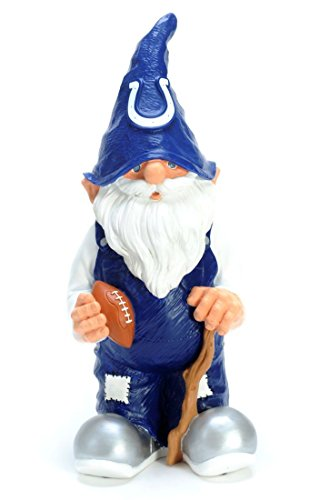 Indianapolis Colts Garden Gnome - 11'' Male by Hall of Fame Memorabilia