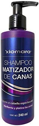 Xiomara Shampoo Platino Matizador de Canas 240 ml