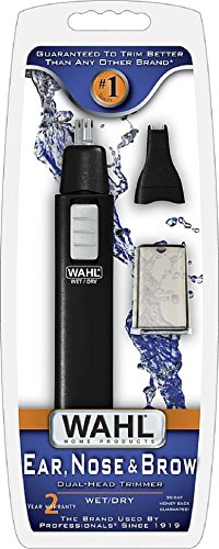 Wahl Dual Head (Wahl Ear Nose and Brow Dual Head Trimmer #5567-200)