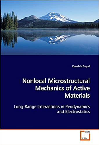 Nonlocal Microstructural Mechanics of Active Materials: Long-Range Interactions in Peridynamics and Electrostatics