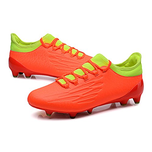 Training Shoes HUAN Professional Color Size Lawn Unisex Soccer Football C Outdoor 41 Spike Boots Shoes Teenagers Men Boy's YnXRXFqw