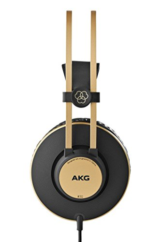 AKG Pro Audio K92 Closed-Back Headphone (Mix Master Headphones)
