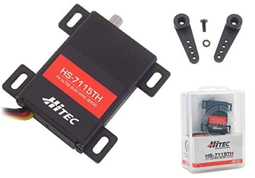 Hitec RCD HS-7115TH High Voltage, Titanium Gear Slim Wing Servo