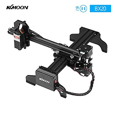 KKmoon 7000mW Laser Engraver Machine Upgrated Version Laser Engraving Printer DIY USB CNC Router Cutting Carver Off-line Location Operation for Art Craft Science for Win 7/8/10/XP Android 4.2