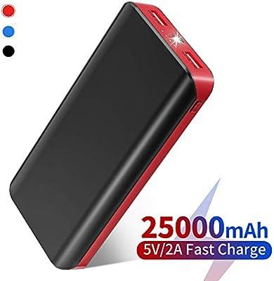 FKANT Batería Externa Movil, Power Bank 25000mAh Carga Rápida ...