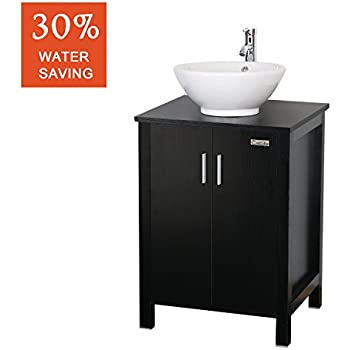 Eclife 24u0027u0027 Modern Bathroom Vanity And Sink Combo (Updates) Stand Cabinet  And