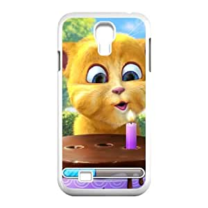 Talking Ginger, a cat Samsung Galaxy S4 9500 Cell Phone Case White UI8304985