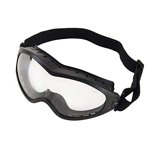 (Holulo Safety Goggles with Anti-Fog/Anti-Scratch Coating Dustproof and Sandproof Impact Resistance Protective Goggles)