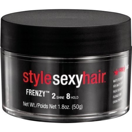 Sexy Hair Frenzy Matte Texturizing Paste, 1.8 - Dry Hair Paste