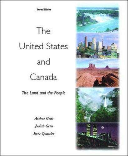 The United States and Canada: The Land and the People