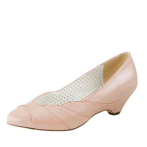 Heels-Perfect - Zapatillas Mujer Rosa (Rosa)