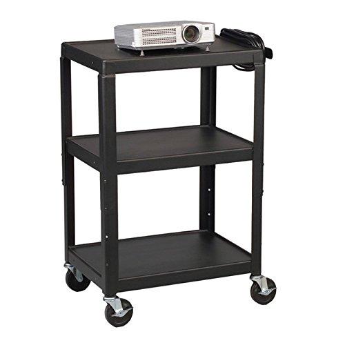 - Balt Height Adjustable Utility Audio Video AV Cart