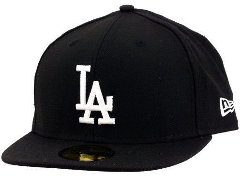 New Era - MLB Basic NY Yankees 59Fifty Fitted - Chapeau Mixte, 91906 black/white la, 7.25