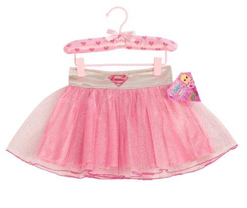 [My Super Best Friends Supergirl Tutu Skirt With Puff Hanger] (Supergirl Cape With Puff Hanger)