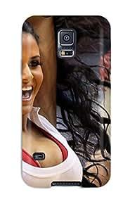 Hot 1770662K508362657 miami heat cheerleader basketball nba NBA Sports & Colleges colorful Samsung Galaxy S5 cases