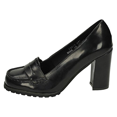 Damen Spot On Heels Pumps Schwarz