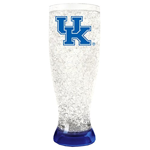 NCAA Kentucky Wildcats 16oz Crystal Freezer Pilsner (Wildcats Glass)