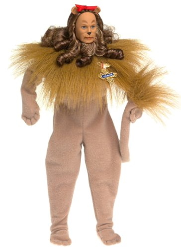 Barbie Ken as the Cowardly Lion in the Wizard of Oz ()