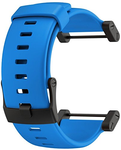 Suunto Core Accessory Strap Royal Blue One Size Rubber Band Black Buckle Adapter