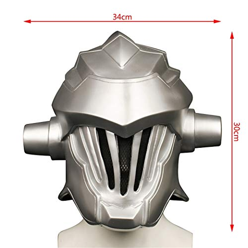 FUTUAN Goblin Slayer Cosplay Mask Halloween Cosplay Prop