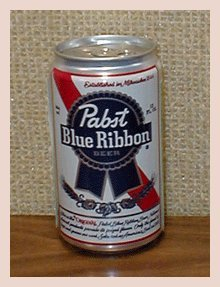 Pabst Brewing Company Pabst Blue Ribbon Beer Diversion Can Safe
