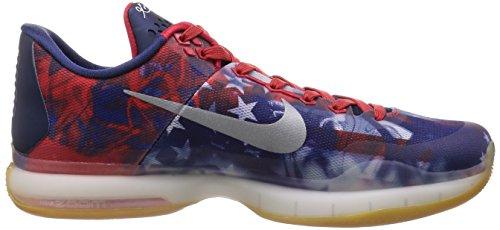 X Rflct Rosso Red Scarpe Nike da Kobe Slvr Basket Uomo Unvrsty Bl Argento pht TYq5qRvx