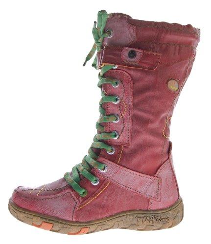 TMA - Botas de Piel para mujer Rojo - rojo