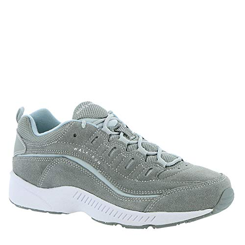 Easy Spirit Women's Romy Suede Walking Shoes Medium Gray 8 M Easy Spirit Wide Shoes