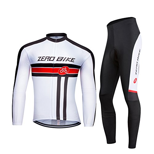 ZEROBIKE® Men's Soft Long Sleeve Breathable Bicycle Cycling Jersey Polyester Clothing Outdoor Sports Fall Autumn