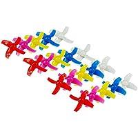 UUMART 20Pcs KingKong LDARC 40mm Propeller 4-Blade Prop Suitable for Reverse Motion Mode Drone