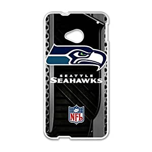 Seattle Seahawks Logo Fashion Comstom Plastic case cover For HTC One M7