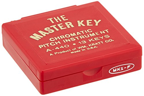 Kratt MK1 Master Key Chromatic Pitch Pipe (F to F) by Kratt (Image #3)