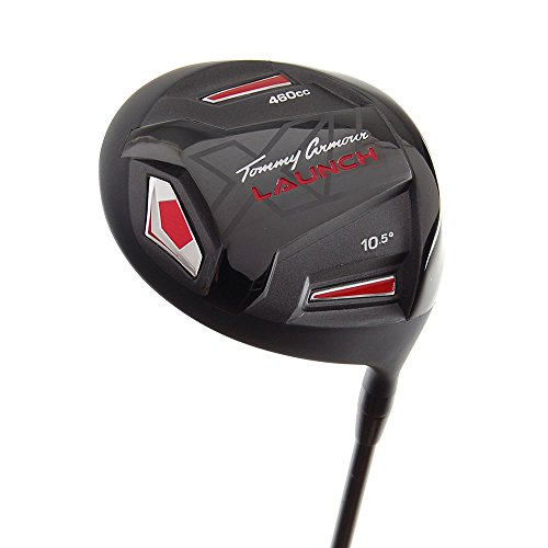 Mens Right Handed Driver - New Tommy Armour Launch XL TA-27 Driver 460cc R-Flex Graphite 10.5 RH +HC