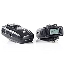Shanny SN-E3-RF 2.4G Wireless Radio Transceiver for SN600C-RF Flash,TTL trigger,LCD panel for Canon ×2