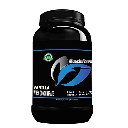 Hormone Free Grass Fed Vanilla Whey Protein Concentrate 2lb Review