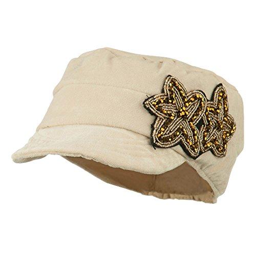 Beaded Velvet Hat - 7