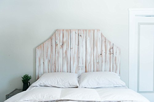 The Atlas - Wooden Distressed Headboard
