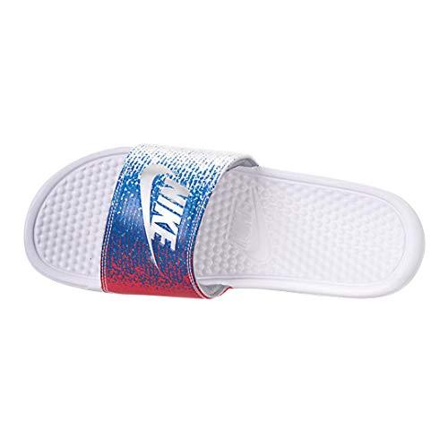 White metallic 11 Red Mens Nike Silver 100 Slippers Benassi Aq7983 speed xwYn0qRp