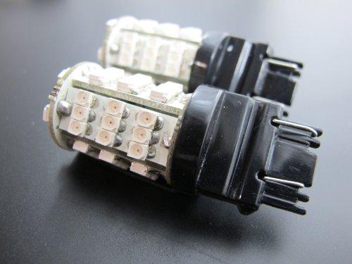 JLC 3156 3157 T25 54-SMD Light Bulbs - 3528 SMD LED Chips - Ultra Blue