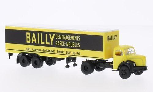 Berliet TLR 8 Caja remolque, Bailly , Modelo de Auto, modello completo, Brekina 1:87: Brekina: Amazon.es: Juguetes y juegos