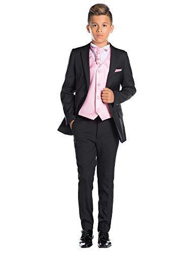 les dernières nouveautés prix fou haut de gamme pas cher Paisley of London garçons Costume Noir, Fin Costume sur Mesure, Page  Costume garçon, Costume de Bal, 12-18 Mois - 13 Ans