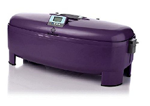 Joy Mangano CloseDrier, Portable Fast-Drying System, Clothes Dryer Violet Purple