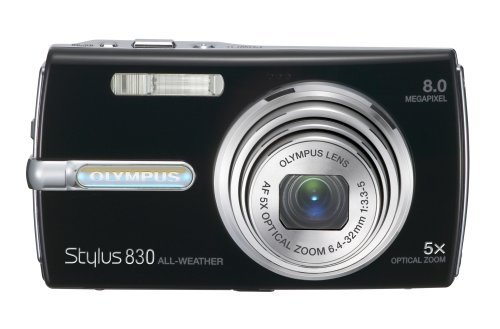 Olympus Stylus 830 8MP Digital Camera with Dual Image Sta...